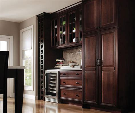 window pane kitchen cabinet doors dark cherry kitchen with glass cabinet doors decora