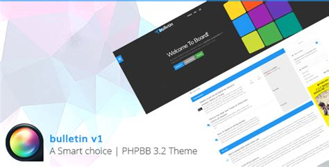 Multipurpose Responsive Phpbb 3.2 Theme By