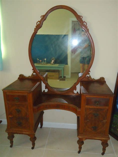 antique vanity with mirror value vanity my antique furniture collection