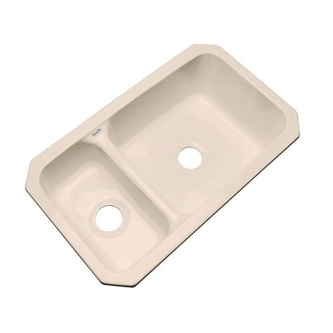 thermocast kitchen sinks cleaning thermocast wyndham undermount acrylic 33 in bowl