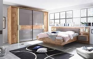Günstige Schlafzimmer Komplett : schlafkontor milano schlafzimmer wildeiche glas basalt ~ Watch28wear.com Haus und Dekorationen