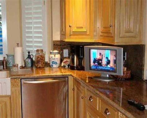 modern kitchen design trends stylishly incorporating tv