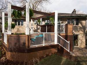 before and afters of backyard decks patios and pergolas diy With elements to know before doing small decks ideas