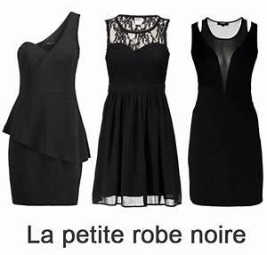 tenue noire With la petite robe noire vetement