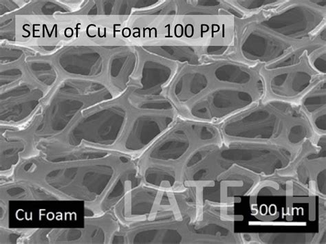 cu foam product detail latech singapore leading lab consumable supplier
