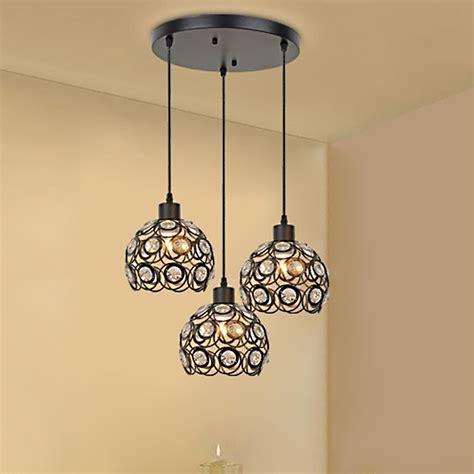 how to hang pendant lights creative design modern glass crystal pendant lights 3