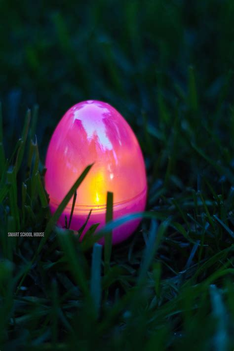 easter egg glow in the dark easter egg hunt smart school house