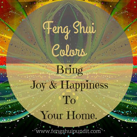 feng shui colors guide   directions  elements