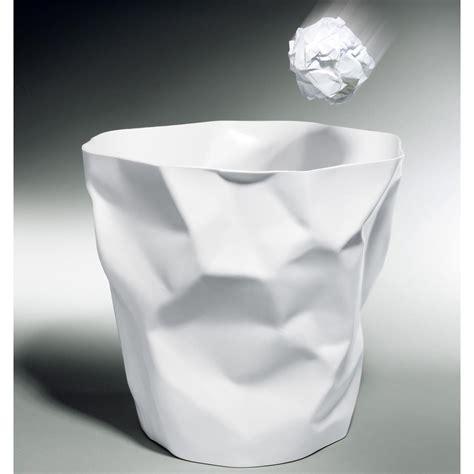 supprimer la corbeille du bureau la corbeille à papier chiffonnée pas cher pro idee