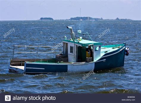 Lobster Boat Images by Commercial Fishing Boat Lobster Boat Checking On His