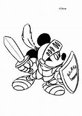 Mickey Coloring Mouse Knight Musketeer Head Hellokids Adult Printable Knights Disney Popular sketch template