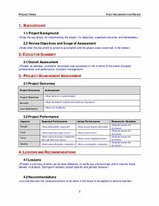 Post implementation review template for Post implementation plan template