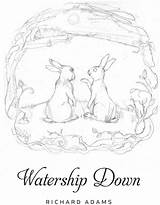 Watership Coloring Sketch Printablecolouringpages Larger Credit sketch template