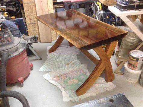 piece  furniture   edge slab computer desk