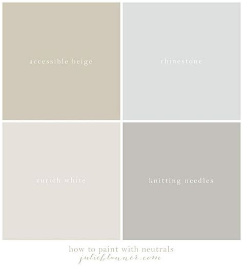 Sherwin Williams Neutral Bathroom Colors by Best 20 Neutral Paint Colors Ideas On