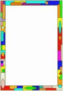 Color Line Border Clip Art (29+)