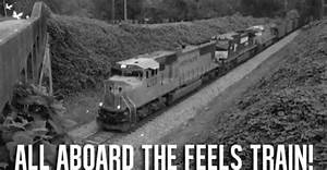 All Aboard The Feels Train GIF - Train Feels Emotions ...