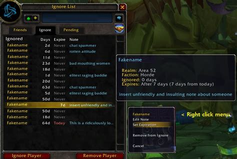 global ignore list and chat spam filter chat communication world of warcraft addons curse