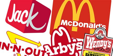 Almost Every Major Fast Food Chain Uses Red In Their Logo