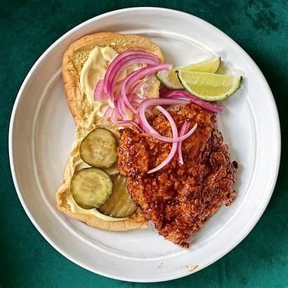 Sambal Chicken Fried Recipe Sandwich Recipes Oelek