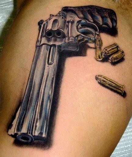 Gun Tattoos  15 Very Cool Gun Designs