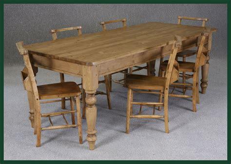bespoke pine farmhouse table handmade to order bespoke