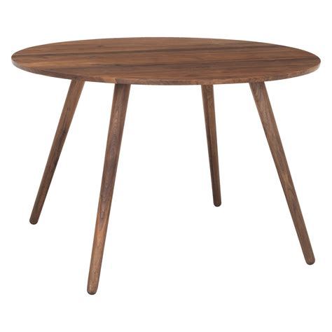 round dining table for 4 vince 4 seat round walnut dining table buy now at habitat uk