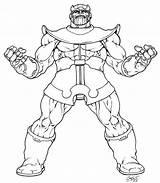Thanos Coloring Pages Marvel Avengers Printable Avenger Returns Inked Sheets Lineart Ausmalbilder Print Warlock Adam Comic Detailed Deviantart Drawing Von sketch template