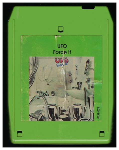 Ufo  Force It 1975 Chrysalis A17b 8track Tape