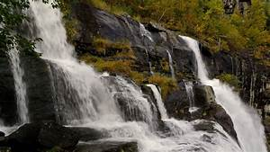 Download, Wallpaper, 1920x1080, Waterfall, Rocks, Stones