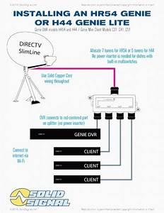 Directv Genie Hookup Diagram