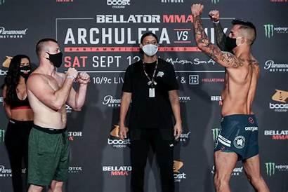 Bellator Weigh Archuleta Faceoffs Mix Vs Fightmag
