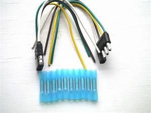 Find 4 Flat Socket  U0026 Plug W  Heat Shrink Connectors