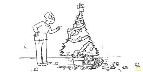 simon s cat discovers christmas cat owners can relate