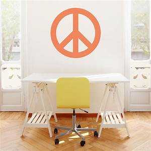 peace sign wall art decal With good look peace sign wall decals