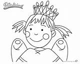 Pinkalicious Coloring Pages Fairy Printable Cupcake Template sketch template