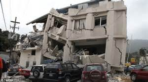 Haiti hit by major earthquake measuring 7 0 on the Richter