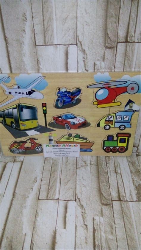 jual mainan edukasi mainan edukatif anak puzzle kayu