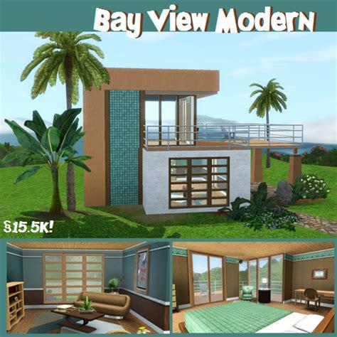 Sims 3 Plan Maison Moderne