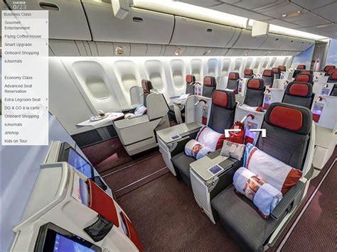 airlines reservation siege austrian airlines le choix du siège en vr 360 air journal