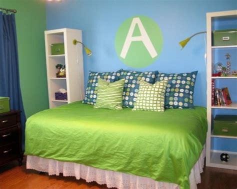chambre enfant bleu et vert chambre enfant en vert pour une atmosph 232 re