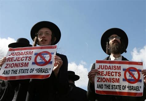 Radical ultra-Orthodox Jews protest Netanyahu's speech