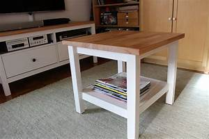 Ikea Couchtisch Hemnes : ikea hacking hemnes couchtisch mit massiver buchenplatte ikea hacking pinterest ikea ~ Orissabook.com Haus und Dekorationen