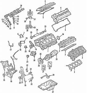 Ford Taurus Engine Crankshaft Seal  Liter  Front  Timing