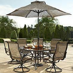 Sear Patio Furniture Sets by Patio Dining Tables Outdoor Dining Chairs Sears