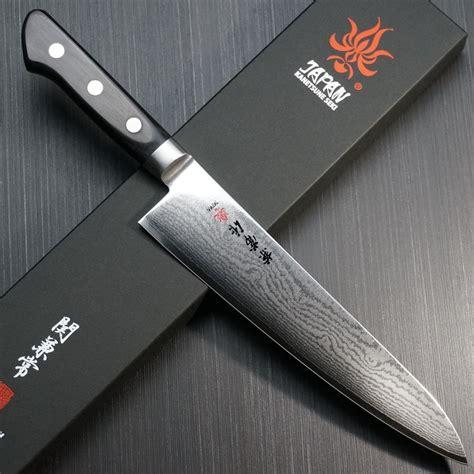 japanese chef knife kitchen knives vg10 damascus kanetsune seki japan cooking kc chefslocker gyuto santoku layers chefs layer 210mm cooks