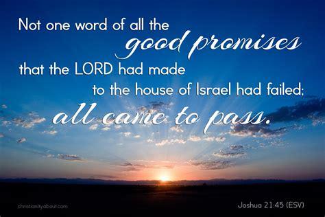 god  failsjoshua verse   day