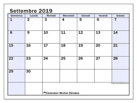 calendari settembre ds michel zbinden