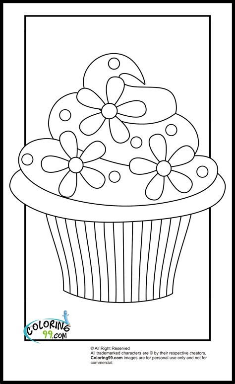 Download and print these cocomelon coloring pages for free. Cupcake Coloring Pages   Team colors