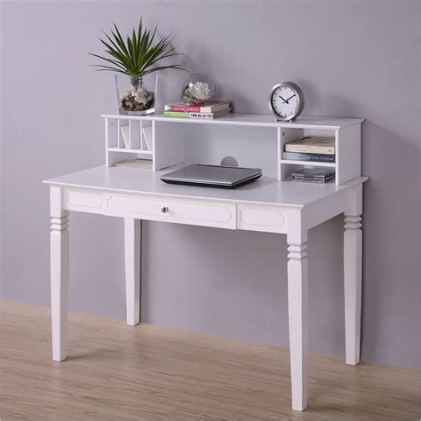 white wooden childrens desk elegant solid wood desk with hutch in white dw48s30 dhwh